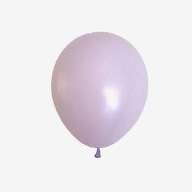 Heliumfylld latexballong 28cm - Pastellila