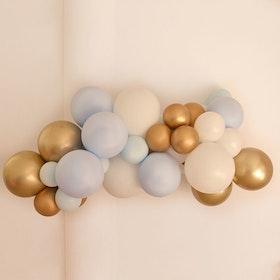 Ballonggirlang - Blue Gold