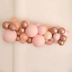 Ballonggirlang - Pink Rose