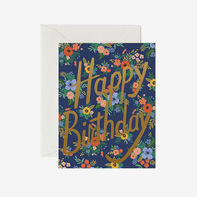 Kort - Garden Birthday