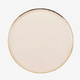 Tallrikar - Polka Dots - Peach Gold