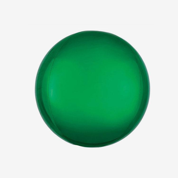 Ballongpost - Folieballong - Orbz Grön