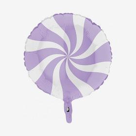 Folieballong - Candy Lila