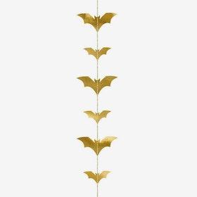 Girlang - Fladdermöss - Guld