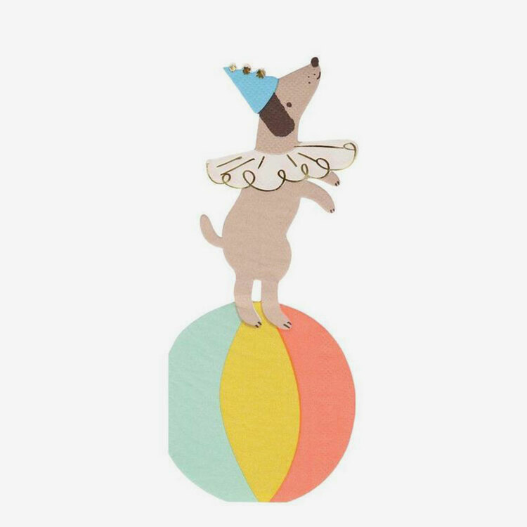 Servetter - Circus Dog