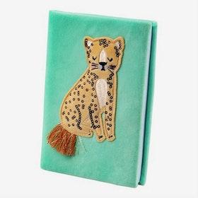Anteckningsbok - Leopard - Sammet