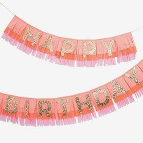 Girlang - Happy Birthday - Rosa