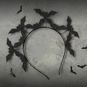 Diadem - Halloween - Black Bats