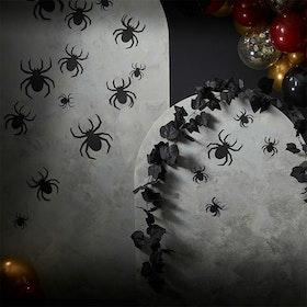 Väggdekoration - Halloween - Spindlar