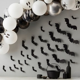 Väggdekoration - Halloween - Fladdermöss