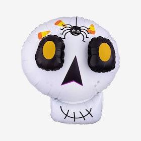 Folieballong - Halloween - Döskalle