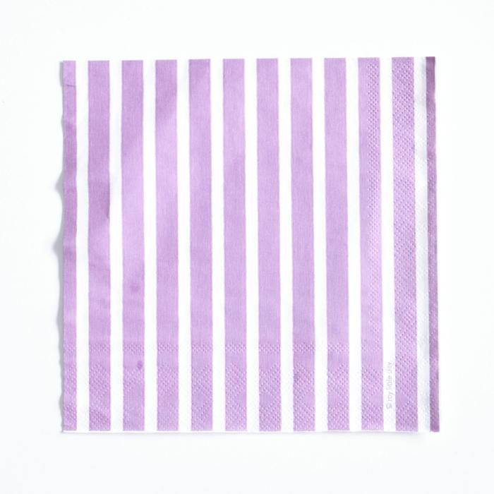 Servetter Violett