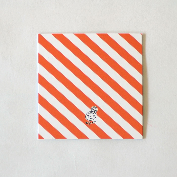 Mönsterkort Ljusblå Romb