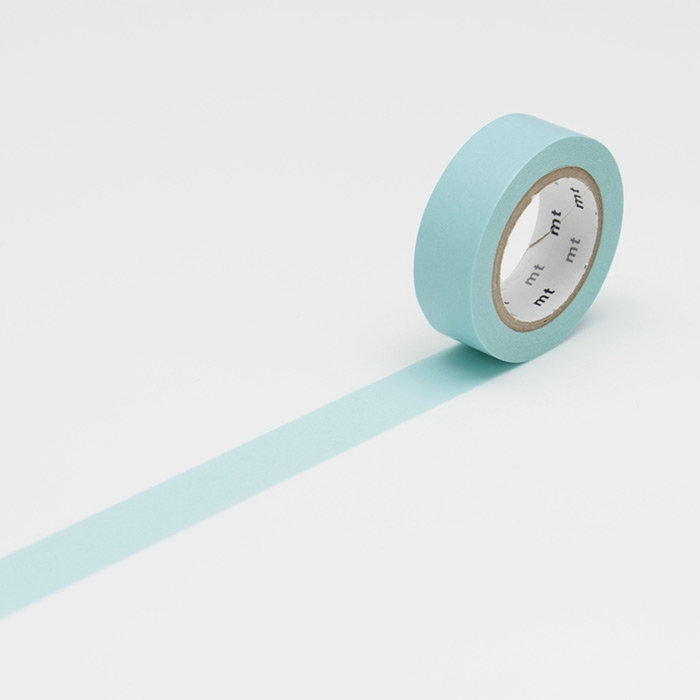 Washitejp -  Ljusblå