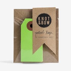 Etiketter Gröna - Knot & Bow