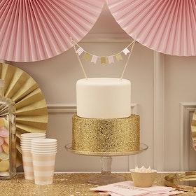 Tårtdekoration Pastell