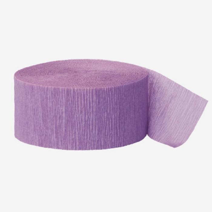 Crepe Streamer Lavendel