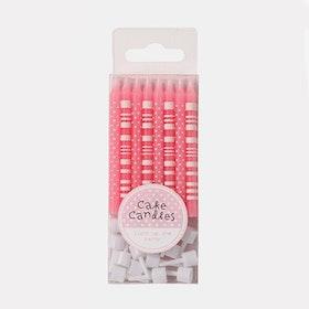 Tårtljus Pink & Mix