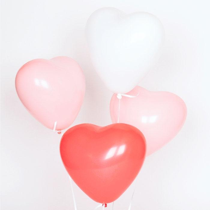 Ballonger - Hjärtan