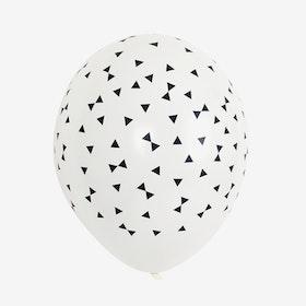 Ballonger - Rosett Svart