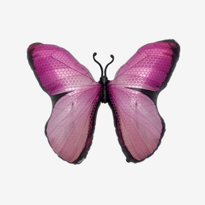 Folieballong - Fjäril