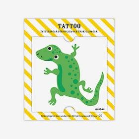 Tatuering Ödla