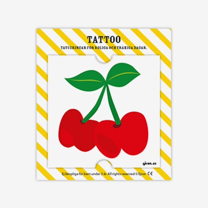Tatuering Körsbär