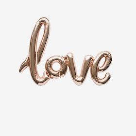 Folieballong - Love