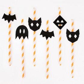 Sugrör Halloween