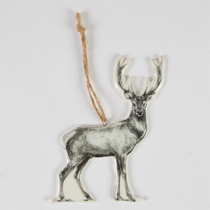 Julgranshänge hjort