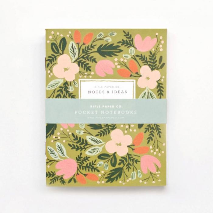 2-pack anteckningsböcker Moss Garden