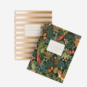 2-pack anteckningsböcker Jungle