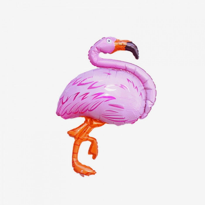 Folieballong - Flamingo