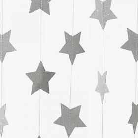 Ballong tail - silverstjärnor