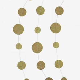 Ballong tail - Confetti guld