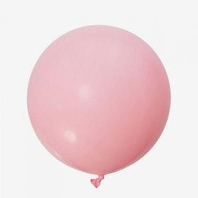 Jätteballong - Ljusrosa