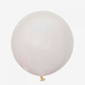 Jätteballong - Genomskinlig