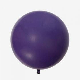 Jätteballong - Violett