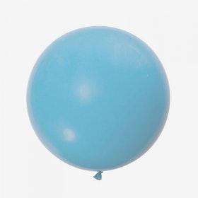 Jätteballong - Ljusblå
