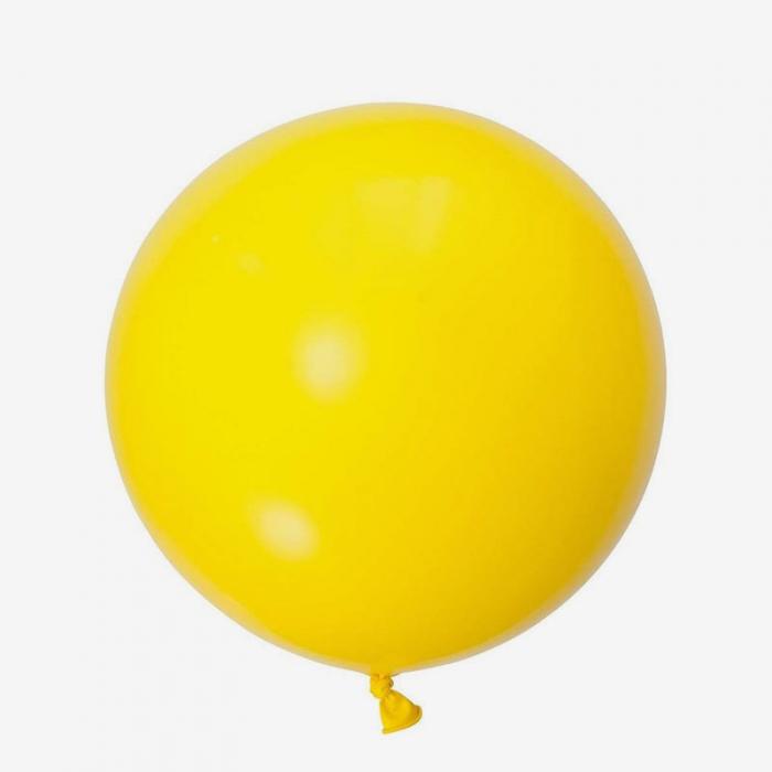 Jätteballong - Gul