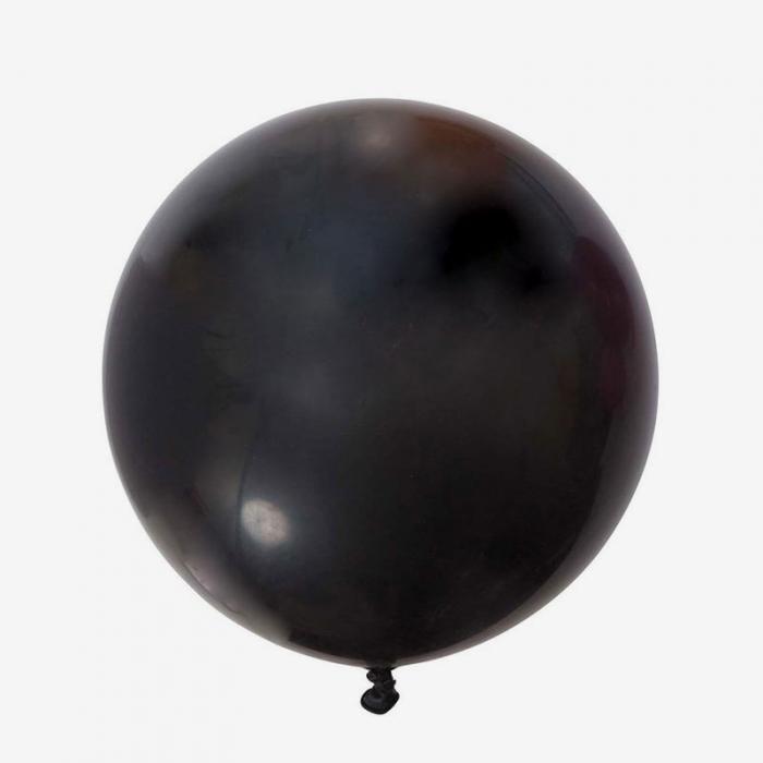Jätteballong - Svart