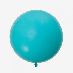 Jätteballong - Karibisk blå