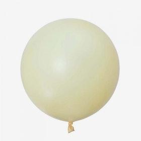 Jätteballong - Elfenbensvit