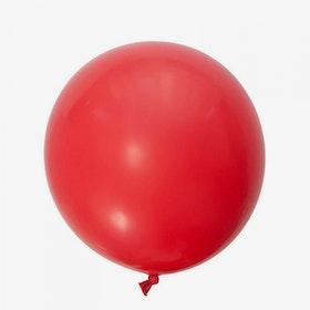 Jätteballong - Röd