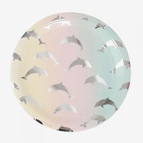 Tallrikar Delfiner