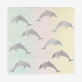 Servetter Delfiner