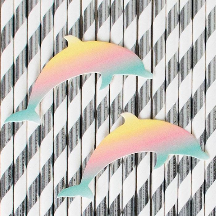 Sugrör Delfiner
