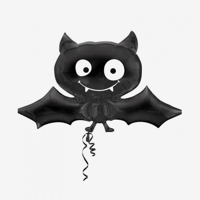 Folieballong - Black Bat