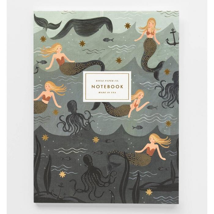 2-pack Anteckningsböcker Mermaid