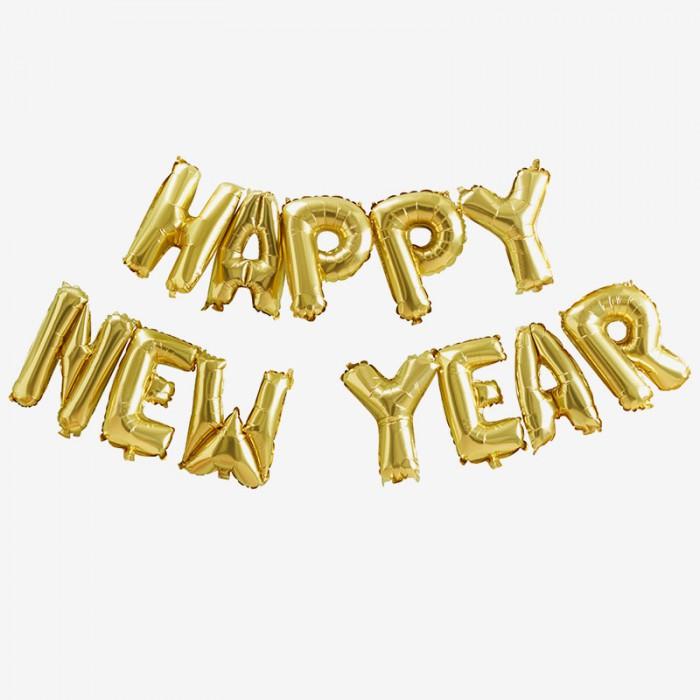 Ballonggirlang - Happy New Year
